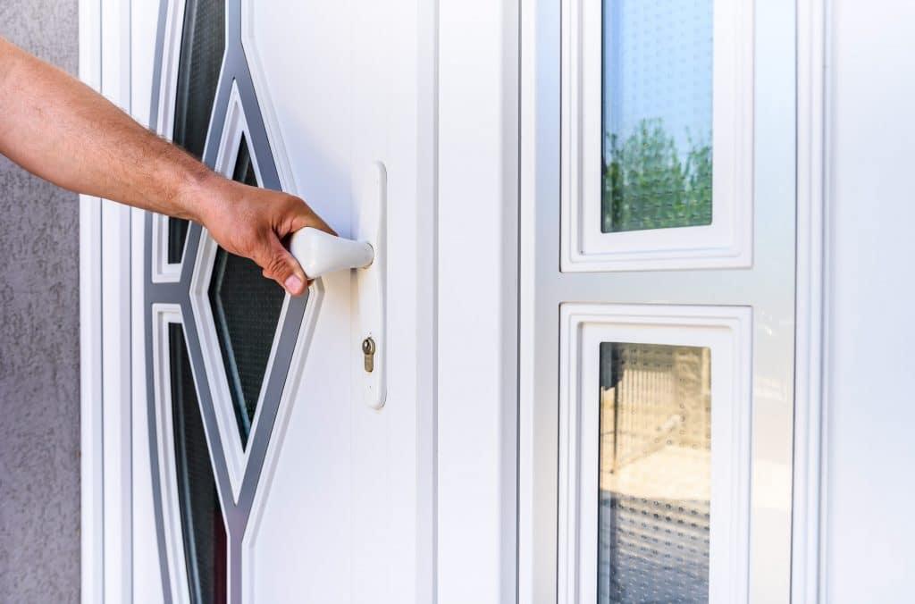 Improve your front door security